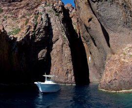 Alpana promenade en mer Scandola girolata porto en bateau