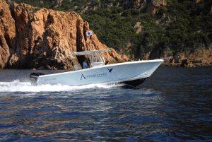 Alpana Promenade en mer et pêche sportive à Porto, Girolata et Scandola, Corse